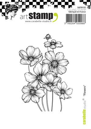 Art Stamp-Flowers