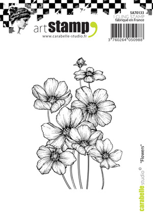 Art Stamp-Flowers