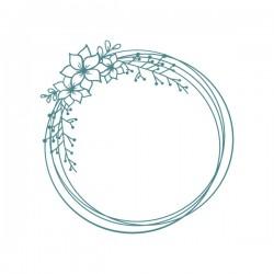 Mya- Floral Frame