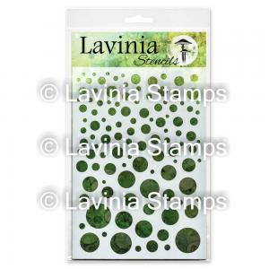 Lavinia Stencil White Orbs