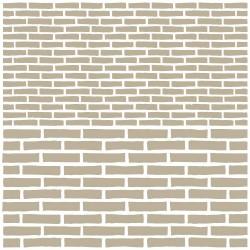 Stencil-Mini-Brick Wall