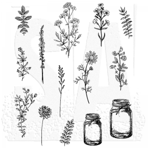 Stampers Anonymous-Flower Jar