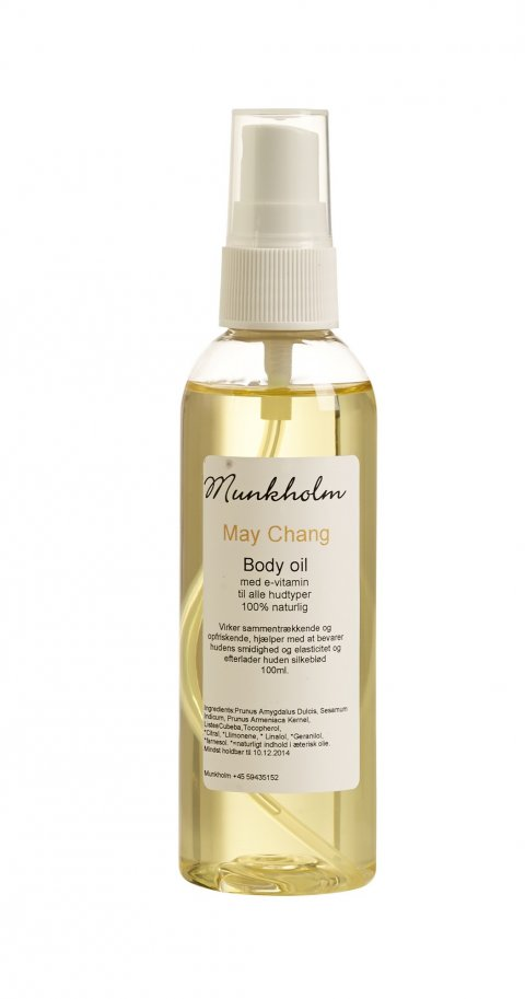Body Oil May Chang Munkholm