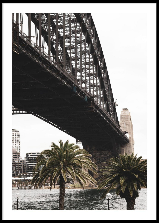 Poster Sydney Harbour Bridge