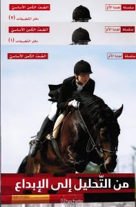 Mina Altahlil Ila Al Ibdaa 8 (Läsbok + 2 ÖB) من التحليل الى الإبداع الصف الثامن  كتاب القراءة و التطبيقات