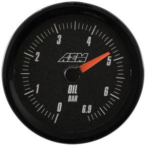 AEM - Oljetrycksmätare 0-6,9 BAR