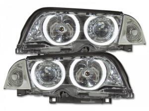 Angel eyes strlk. krom - BMW E46 sedan 98-01