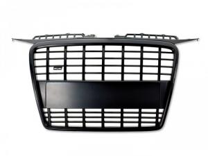 Emblemlös grill svart - Audi A3 05-