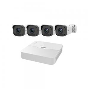 Uniview Kit: Paket med 4-kanalers NVR samt 4st Bullet kameror, POE