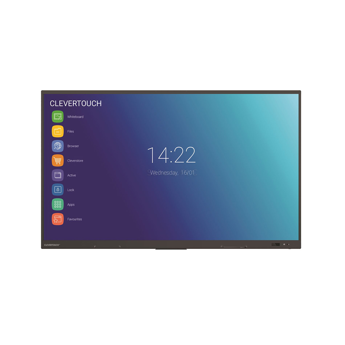 "Clevertouch IMPACT PLUS - 55"" - 20 p touch - m Android - 4K"