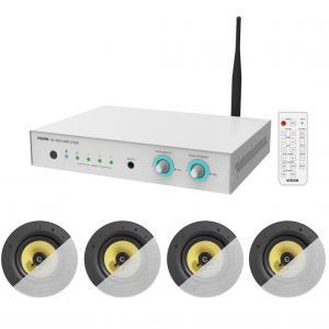 Ljudpaket - Konferensrum: Vision AV-1800 + 4st takinfällda högtalare