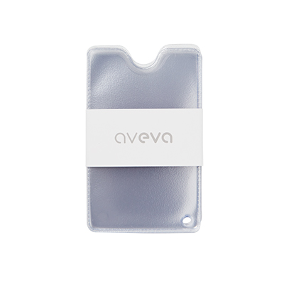 Plastic pockets for credit and membership cards for wallet