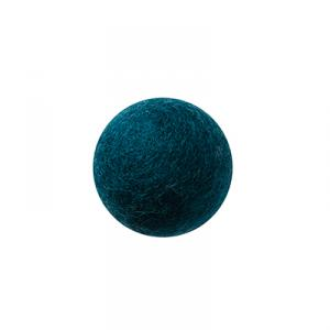 Petrol wool ball wall hanger