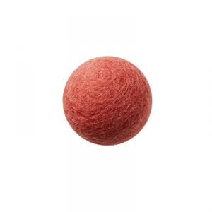 Coral wool ball wall hanger