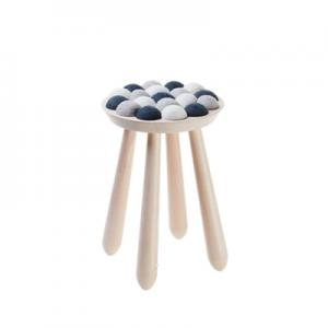 WOW STOOL, nature-grey