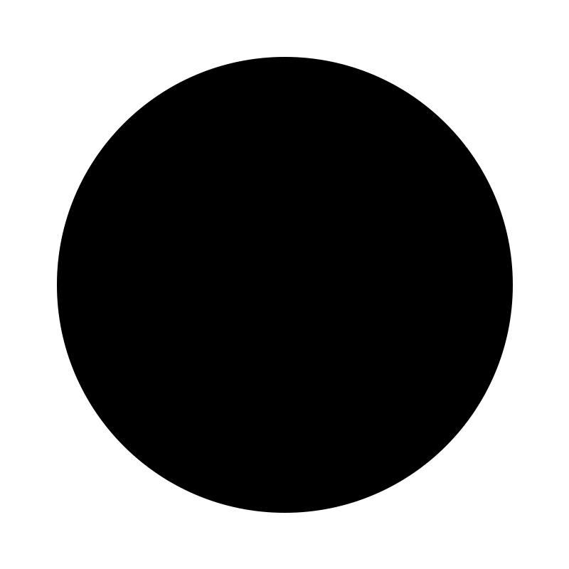 WOOD HANGER, L, black