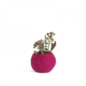 FLOWER POT, S, fuchsia
