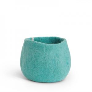 FLOWER POT, M, iceblue