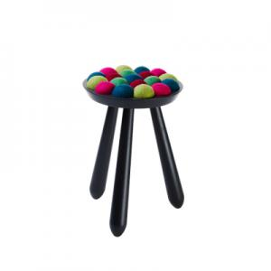 WOW STOOL,  black-forest