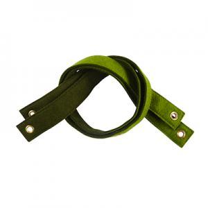 Hyllkonsol i ull - Grön