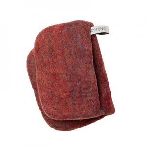 Handmade potholder made of 100% wool - Berry
