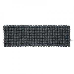 Dark grey trivet in 100% wool