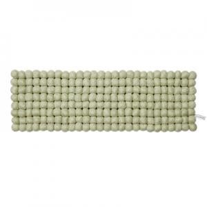 Mint-green trivet in 100% wool