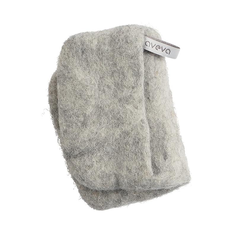 POTHOLDER, raw wool