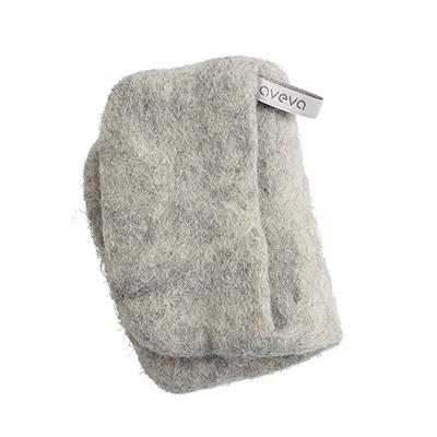 Handmade potholder made of 100% wool - Raw wool