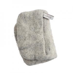 Handmade potholder made of 100% wool - Raw wool