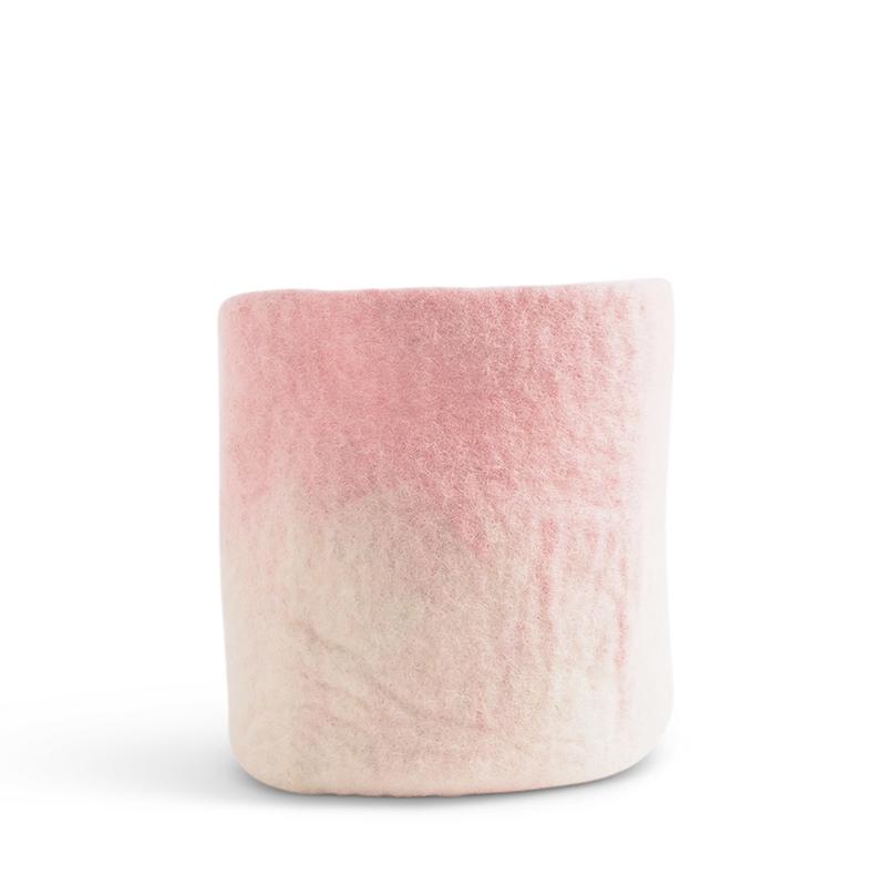 FLOWER POT 18, L, pink