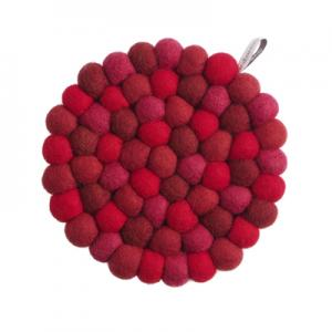TRIVET, ROUND, bubblecherry