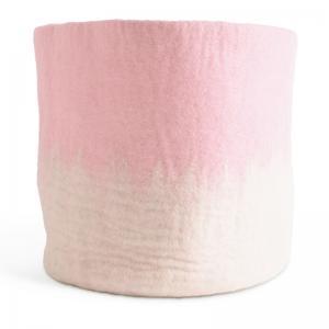 FLOWER POT 18, XL, pink