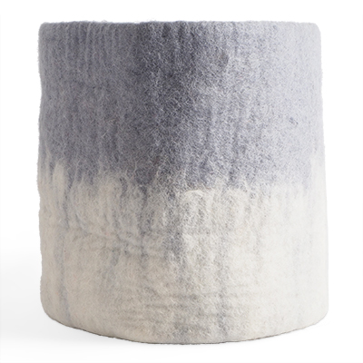 FLOWER POT 18, XL, concrete