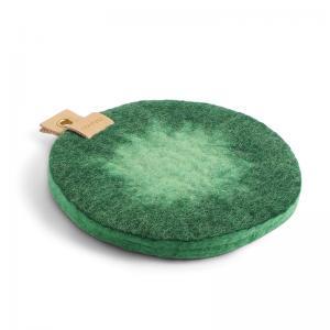 TRIVET, OMBRE, emerald