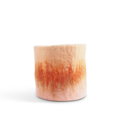 FLOWER POT 18, M, terracotta