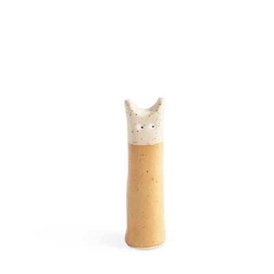Cat made in ceramic - sand.