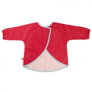 Dirt red apron