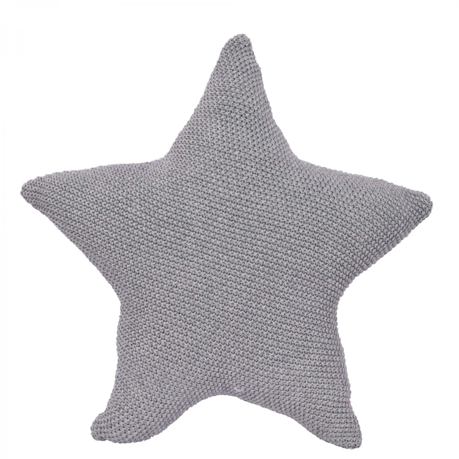 Knitted Pillow Star