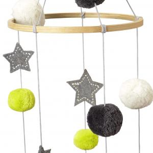 Mobile Pompom Star