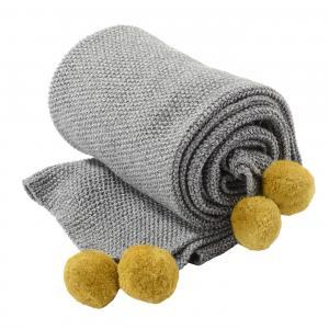 Blanket Pompom Panda