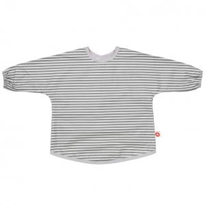 Dirt grey stripe apron
