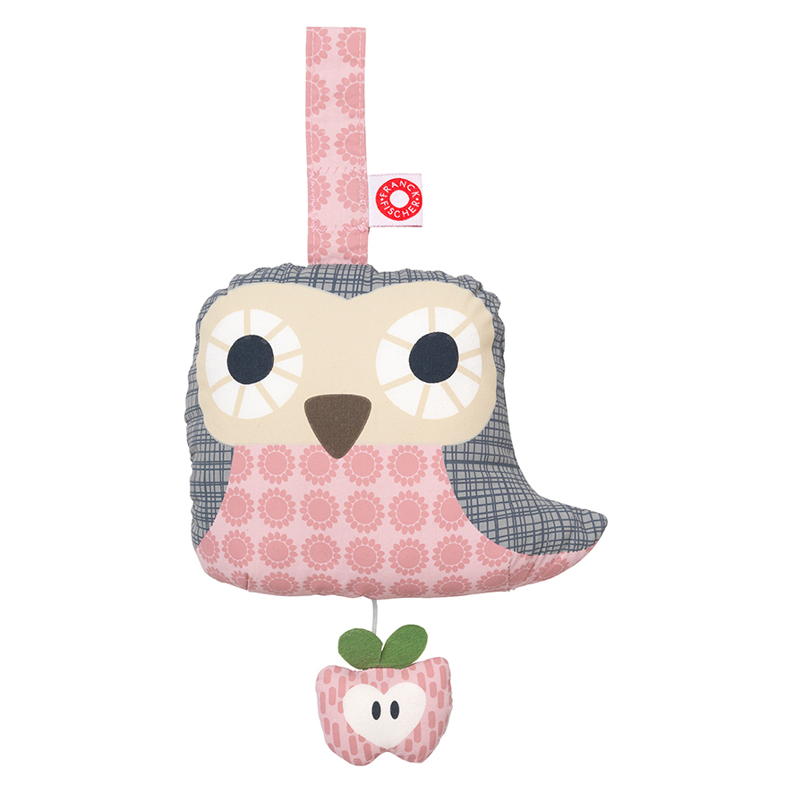 Else pink owl musical toy