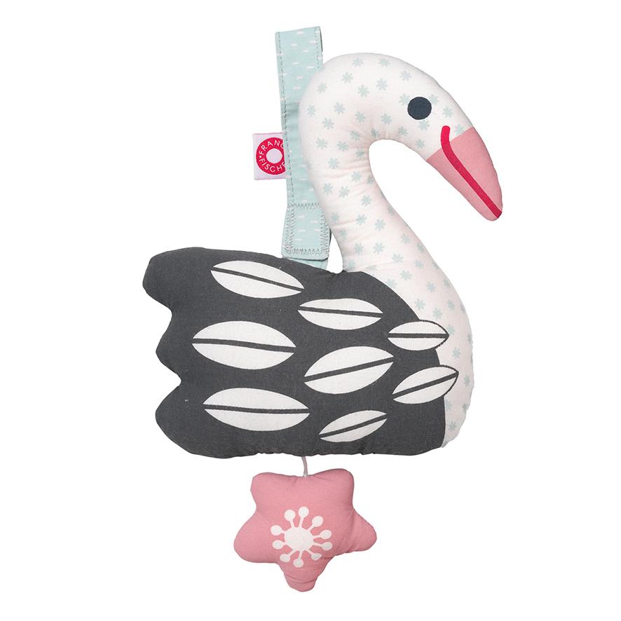 Else light swan musical toy