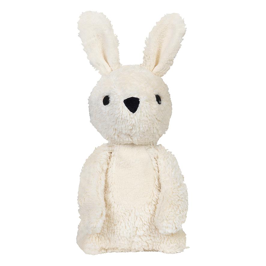 Carla off-white rabbit cuddle toy