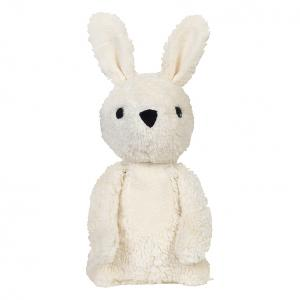 Carla off-white rabbit cuddle toy