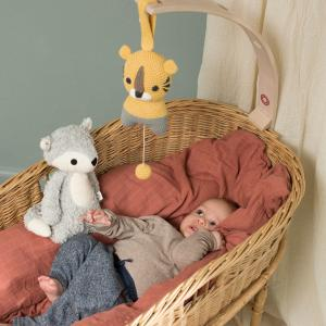 Mikkel grey fox cuddle toy