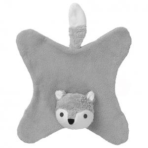 Anika grey fox cuddle cloth