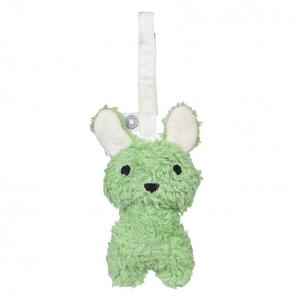 Louise green rabbit hanging rattle
