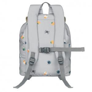 Aske grey backpack